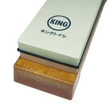 king 1000 6000 japanese whetstone knife sharpening stone bonsai