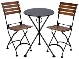 Teak Patio Furniture Set - folding outdoor table and chairs u2013 folding wooden garden table and