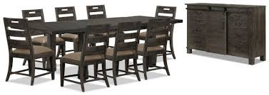 The Brick Dining Room Furniture Dining Room Piece Table Sets Wood Set Canada Person Winsome Formal