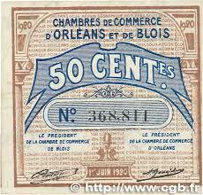 chambre du commerce blois 50 centimes régionalisme et divers orléans et blois 1920 jp