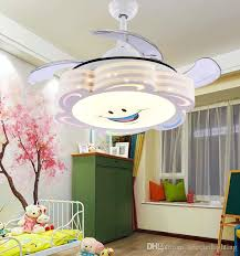 Ceiling Fan Kids Room by 2017 Ceiling Fans Remote Control Modern Retractable Blades Led