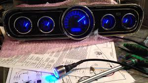 mustang custom gauges mustang vhx cluster 1966 restomod