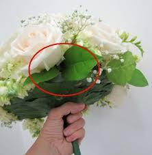 Wedding Flowers Greenery Salal Leaf Continuing Wedding Bouquet Tutorial