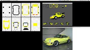 pixel car making 3d pixel art cars timelapse on vimeo