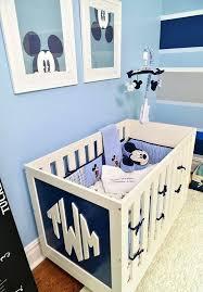 Navy Nursery Decor Mickey Mouse Bedroom Decor Light Blue And Navy Nursery Decor