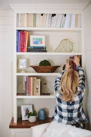 how to style a bookshelf that defines your personality