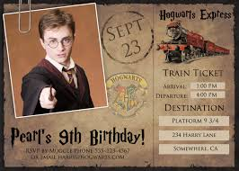 daniel radcliffe harry potter birthday invitations printable
