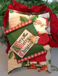 graphic 45 shaker pillow box christmas ornaments tutorial using
