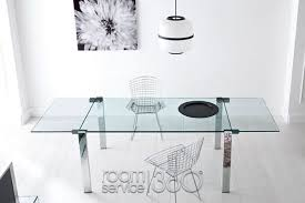 livingstone modern italian extension dining table by tonelli