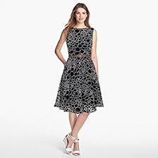 black skater dress shivalika tex women s black skater dress in clothing