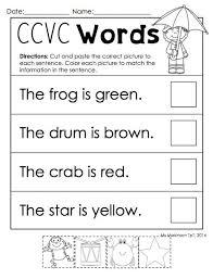 43 best ccvc activities images on pinterest word work phonemic