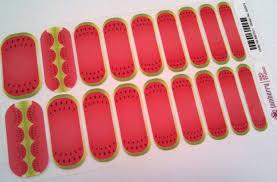 get a super cute watermelon pedi with showynails showynails blog