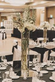 Vase With Twigs Tall Flower Arrangements Wedding Centerpiece Designs Inside