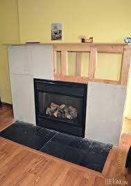 cement board installation foyers pinterest cement fireplace