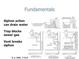 Sewer Gas In Bathroom Technology In Architecture Lecture 15 Waste U0026 Vent Systems Waste