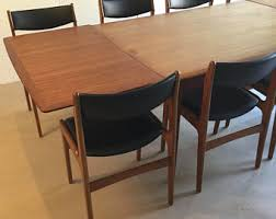 Teak Dining Tables And Chairs Teak Dining Table Etsy