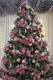 pink christmas tree pictures of decorated christmas trees lovetoknow