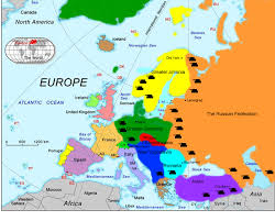 map of europe a map europe travel maps and major tourist attractions maps