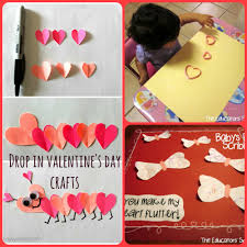 valentine u0027s day drop in craft manlius library