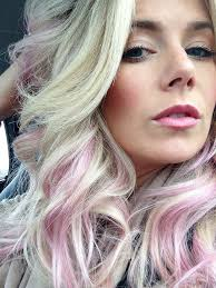 older women with platinum blonde pink hair best 25 pink streaks ideas on pinterest pink streaks in hair