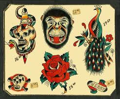 44 best traditional tattoo flash images on pinterest colors