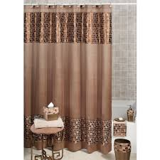Burlap Ruffle Curtain Curtains Fancy Shower Curtains Fabric Shower Curtains Coral