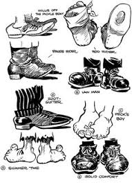 drawing shoes cartoon online drawing lessons