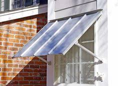Carroll Awning Company Datum Metal Awnings Are Modern Efficient Cost Effective