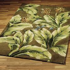 Palm Tree Bathroom Rugs by Fine Palm Tree Area Rugs Tommy Bahama Clarion Harbor Fern Leaf