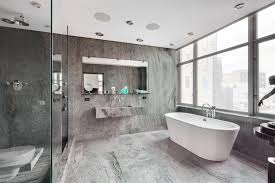 gray and white bathrooms tjihome