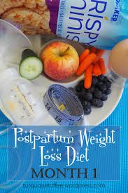 postpartum weight loss diet and exercise plan to lose the baby