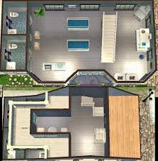 mod the sims carol town square