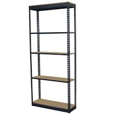 storage concepts 72 in h x 36 in w x 12 in d 5 shelf steel
