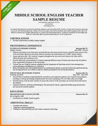 Resume Ideas For Teachers Teacher Resume Examples 9 Cv Format For Teaching Warehouse