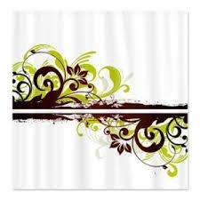 Swirl Shower Curtain Makanahele Com Category White Shower Curtains