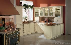 pictures of kitchens traditional off white antique kitchen