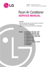 lsq092h 3 service manual hvac air conditioning