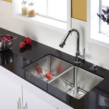 replace a kitchen faucet kitchen stainless steel kitchen sink combination kraususa within