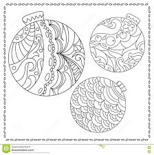 or teen coloring page with christmas or new year doodle