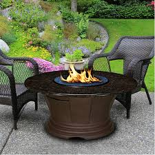 outdoor gas fire pit table san simeon chat gas fire pit table my yard pinterest gas fire