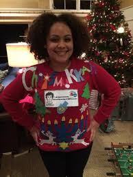 Ugly Christmas Sweater Decorations Chrismukkah Ugly Christmas Sweater Kit Decorating Idea U2013 Ugly