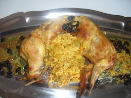 cuisiner le lapin en sauce lapin farci aux riz