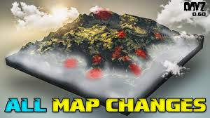 Dayz Sa Map All Dayz 0 60 Map Changes Tisy Military Base Youtube