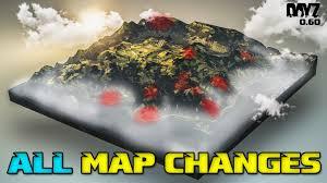 Dayz Maps All Dayz 0 60 Map Changes Tisy Military Base Youtube