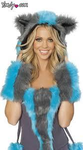 Cheshire Cat Halloween Costume Cat Fur Hood Chester Hood Cheshire Cat Halloween Costume Hood