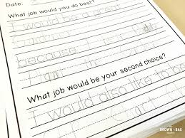 1st grade writing paper classroom jobs in 1st grade the brown bag teacher classroom jobs in 1st grade