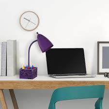 Desk Organizer Lamp Mainstays 18
