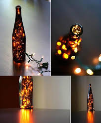wine bottle christmas ideas wine bottle christmas light