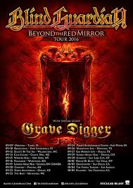 Las Vegas Blind Center Blind Guardian And Grave Digger The Best In German Metal At The