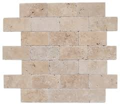 Travertine Floor Cleaning Houston by Free Samples Izmir Travertine Tile Tumbled Riverbed Walnut